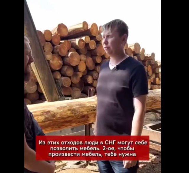 Коротко и доходчиво о том, почему дерево не остается в России
