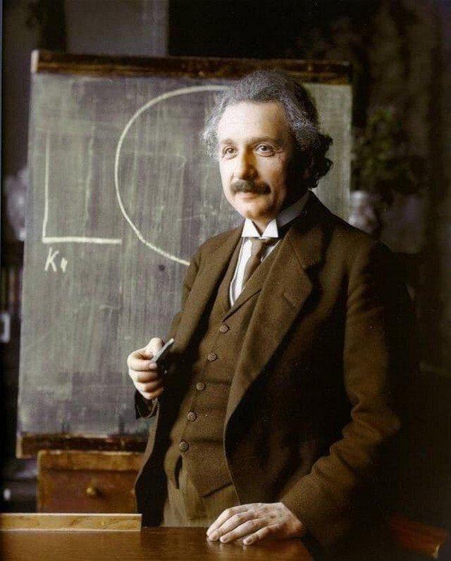 Альберт Эйнштейн. 1921 год.
