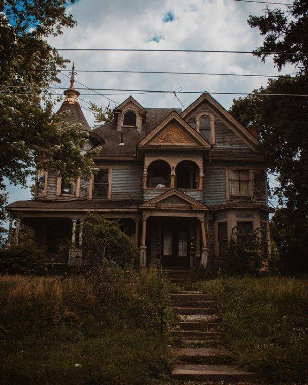 Викторианский дом в Мэнсфилде, штат Огайо
