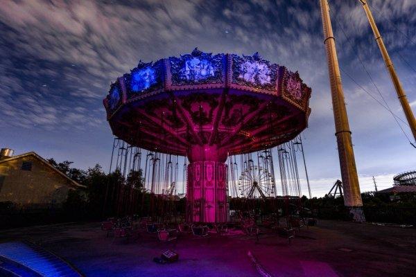 Заброшенный тематический парк в Новом Орлеане