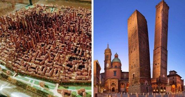 Болонские башни, Италия