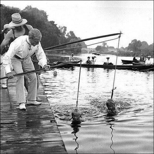 Уроки плавания, 1920-е года