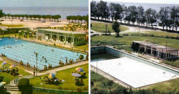 Гранд Отель в городе Бейра, Мозамбик (1960-е и 2000-е)