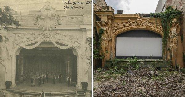 Как за один век изменилась сцена театра на открытом воздухе