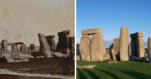 Стоунхендж, 1877 и 2019 год