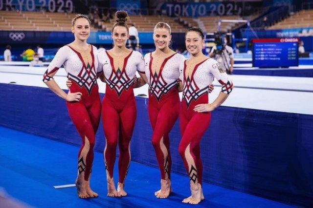 Немецкие гимнастки отказались выступать на Олимпиаде в Токио в купальниках. Шутки и приколы