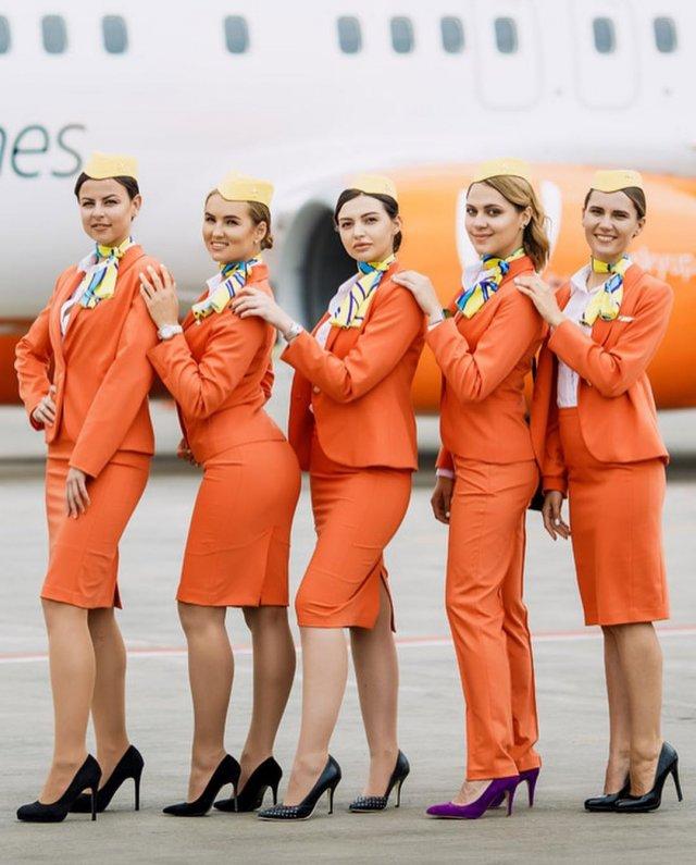 Украинский лоукостер SkyUp изменил форму стюардесс