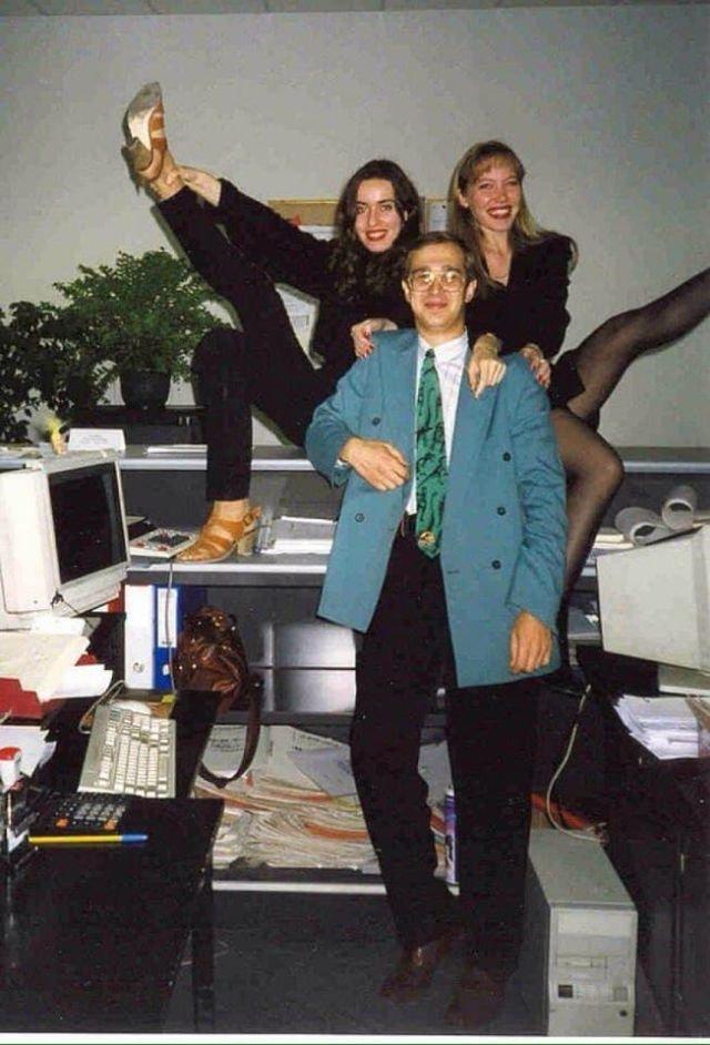Сергей Мавроди, офис МММ, начало 90-х