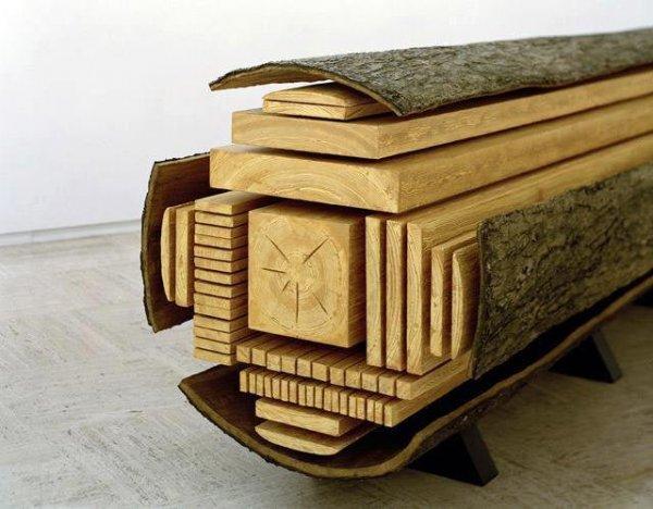 Как выглядят виды распила древесины