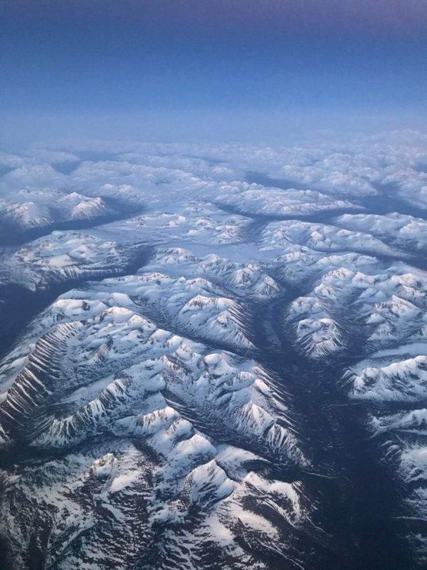 «Сфотографировал Аляску, пока самолет садился»