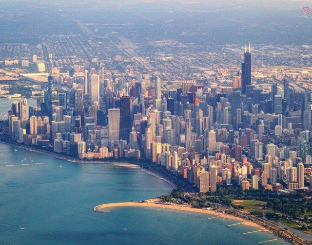 Хороший вид на Чикаго