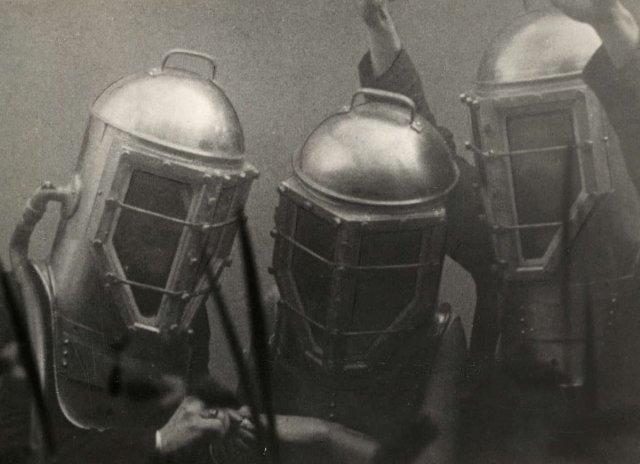 Свадьба под водой, США, 1930 год.