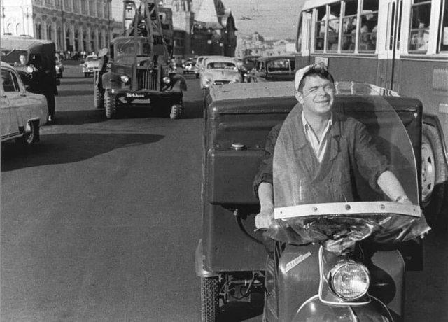 Москва, 1960 год