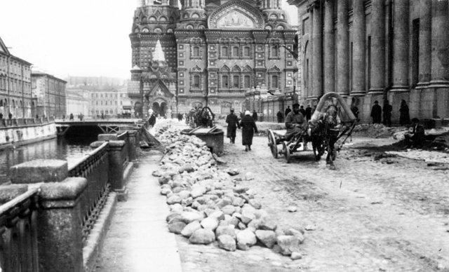 Екатерининский канал. Петербург начала ХХ века