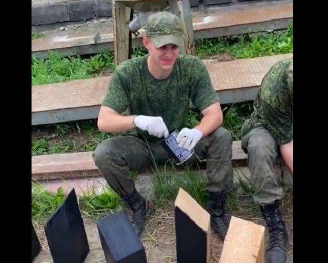 Полезное занятие в армии