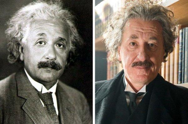 Ученый Альберт Эйнштейн — Джеффри Раш в сериале «Гений»