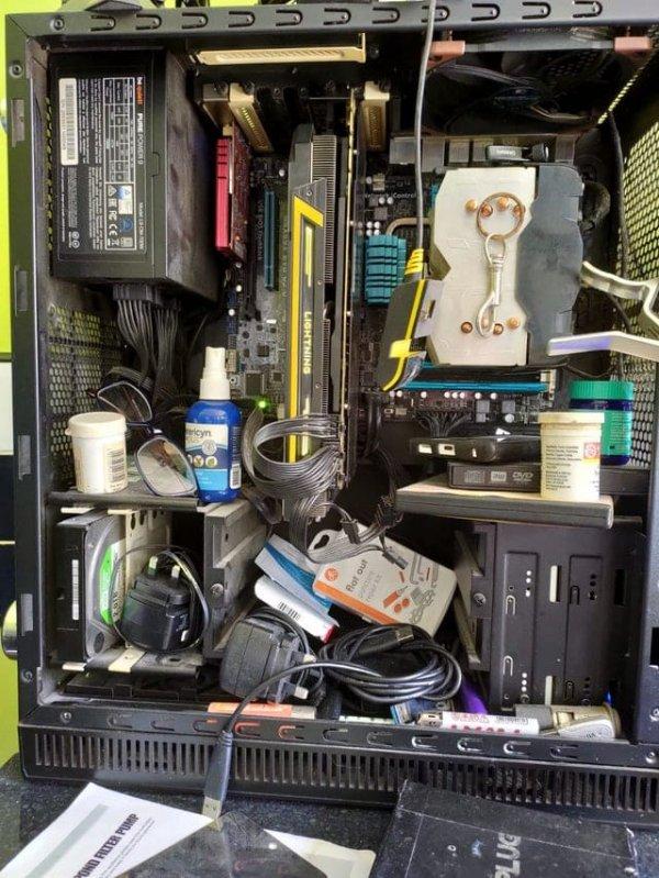 Дамы и господа, компьютер моего отца