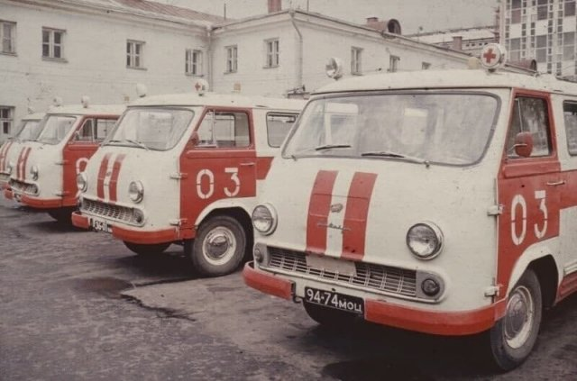 На станции скорой помощи, 1977 год, Москва
