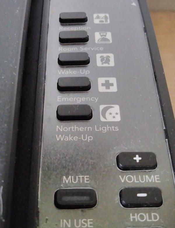 В номере отеля в Исландии есть специальная кнопка