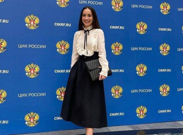 Виктория Дайнеко выступила в ЦИК и рассказала, чем будет заниматься в Госдуме