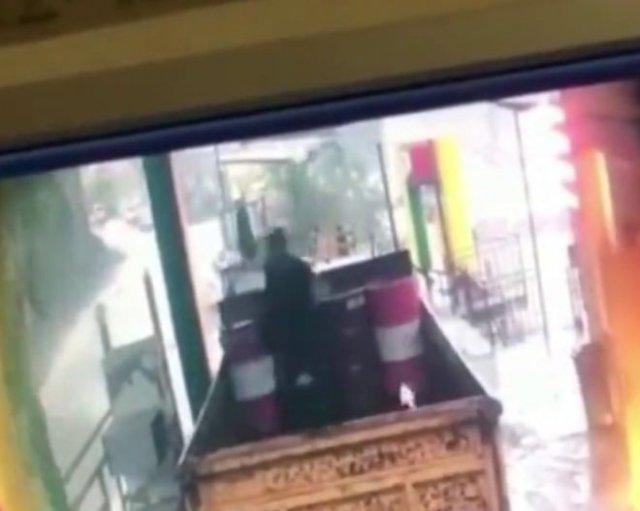 Мужчине из Дагестана повезло выжить под градом огромных камней