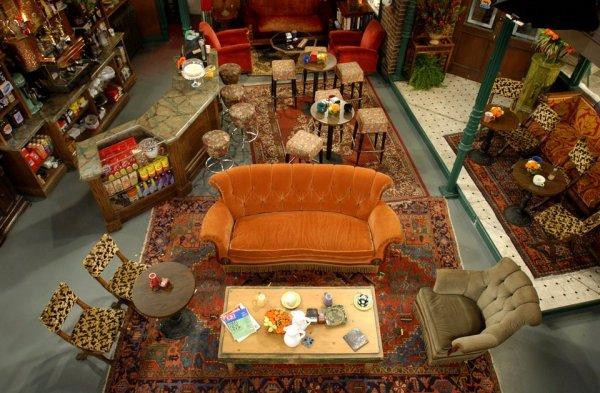 «Центральная кофейня» из сериала «Друзья», вид сверху