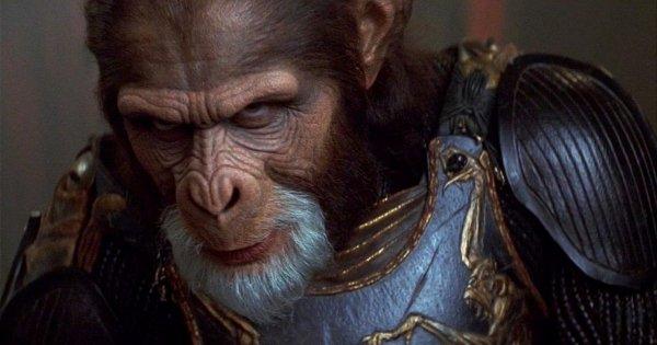 Тим Рот в фильме «Планета обезьян» (2001)