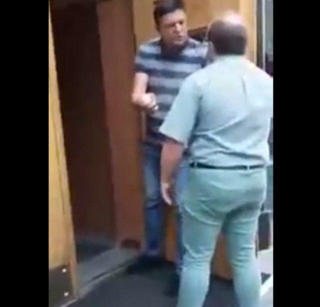 В здание правительства Украины ворвался мужчина с гранатой и угрожает ее взорвать