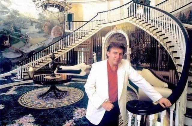 Дональд Трамп, 1987 год.
