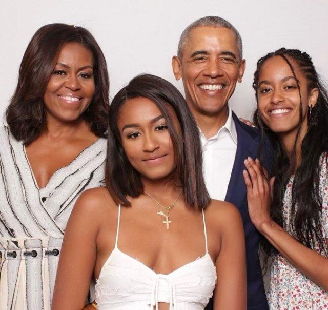 Подборка смешных, забавных и веселых кадров с Бараком Обамой