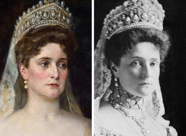 Александра Федоровна, супруга Николая II (1872–1918 гг.)