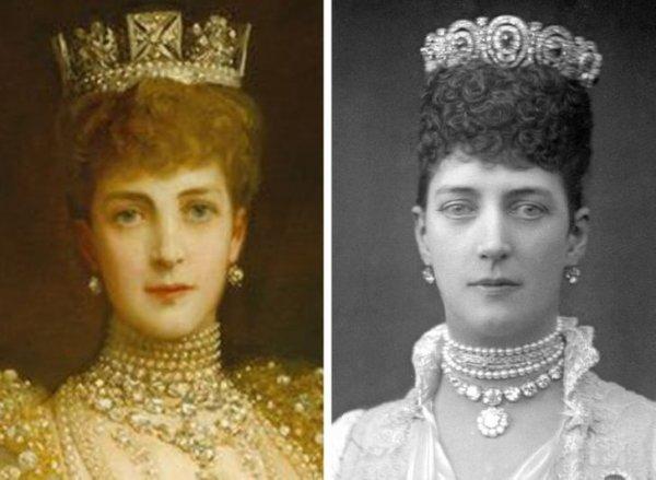 Александра Датская, супруга Эдуарда VII (1844–1925 гг.)