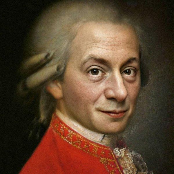 Вольфганг Амадей Моцарт, австрийский композитор