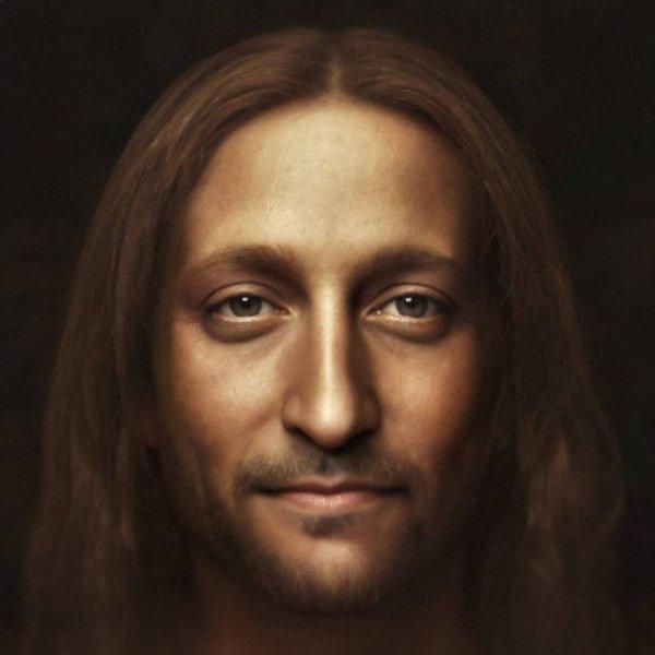 Иисус Христос c картины Леонардо да Винчи «Спаситель мира»