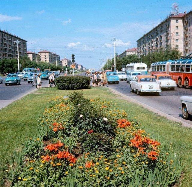 Ленинский проспект, 1970