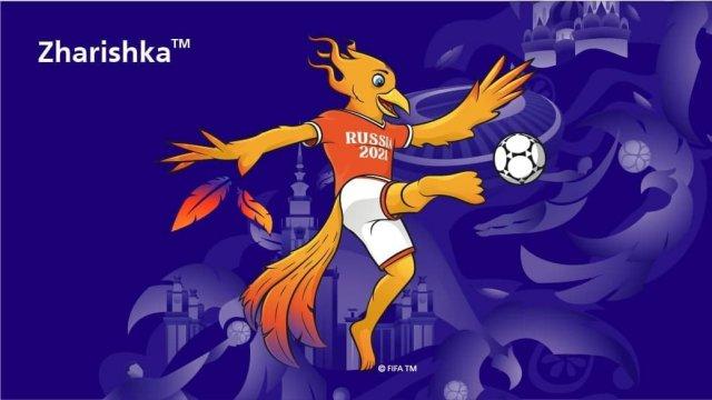 Жар-птица Жаришка стала талисманом чемпионата мира по пляжному футболу 2021 года