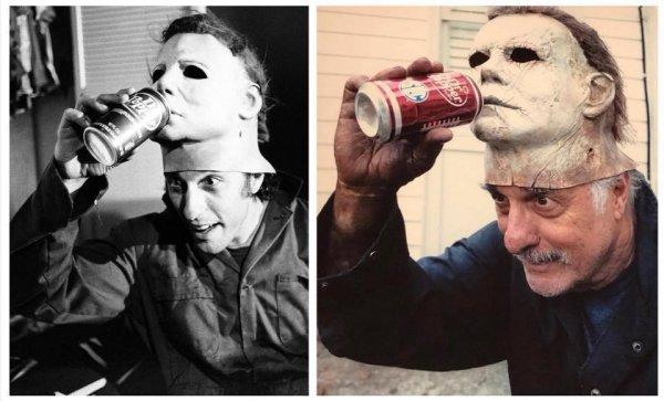 Ник Кастл за кадром фильмов «Хэллоуин» 1978 и 2018 года