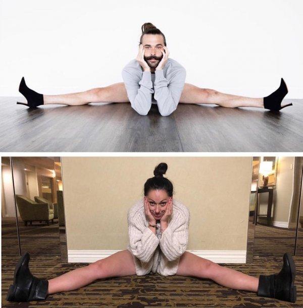 Селеста Барбер - блогер из Австралии, которая показала, как нелепо выглядят позы моделей в реальност