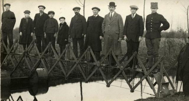 Складной аварийный мост, Нидерланды, 1926 год