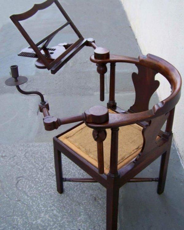 Стул для чтения, 1750 год