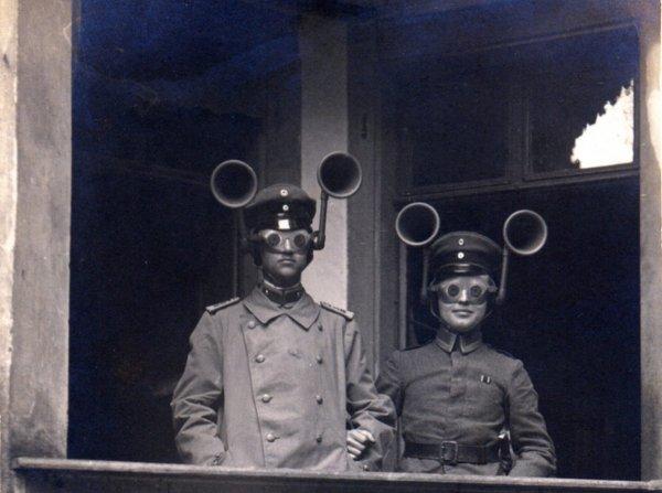Военные локаторы времён Первой мировой войны