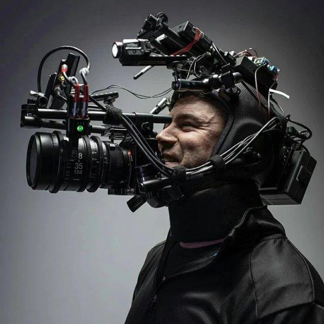 Как выглядит камера, которая позволяет снимать кадры от первого лица