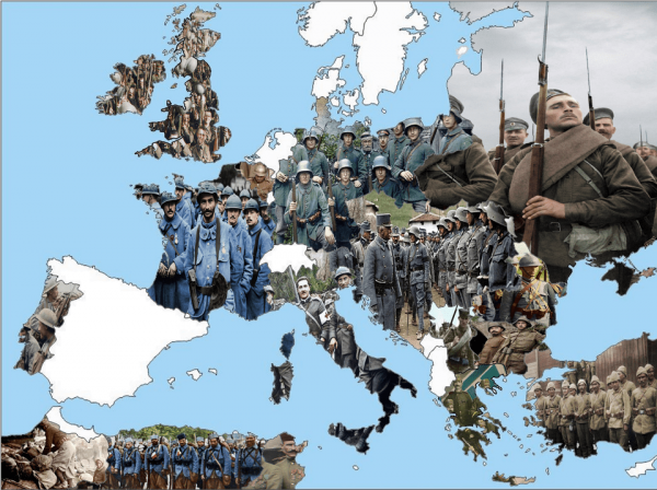 Как выглядела военная форма разных стран во время Первой мировой войны