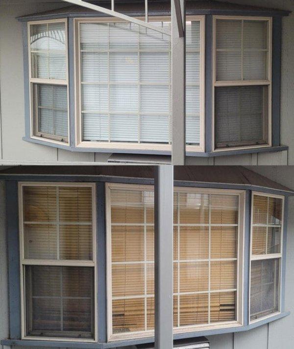 Обычное окно и окно курильщика