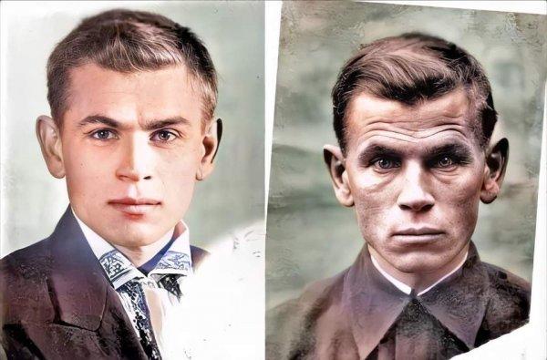Евгений Степанович Кобытев. 1941 vs 1945, до войны и после
