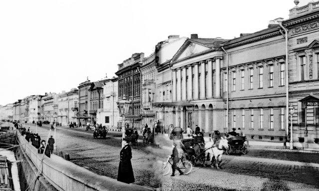 Старый Петербург. Английская набережная