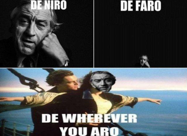 Лучшие шутки, цитаты и мемы с Робертом Де Ниро