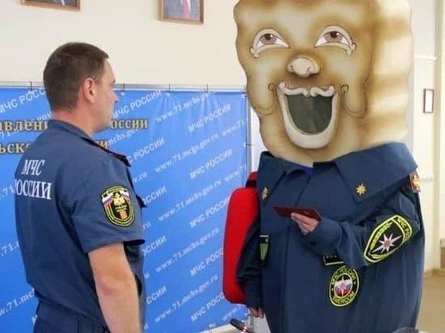 В МЧС Тулы появился новый «сотрудник» - Тульский пряник