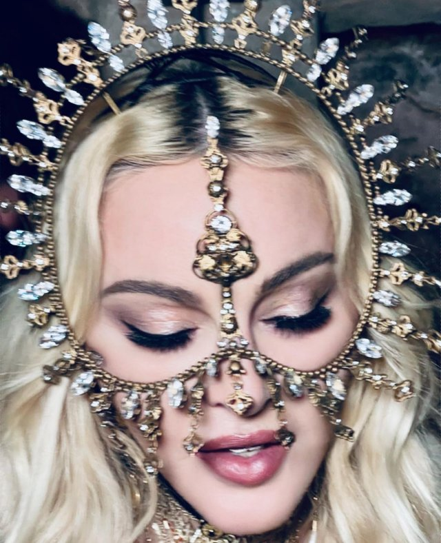 Мадонна отметила день рождения с близкими и новым бойфрендом
