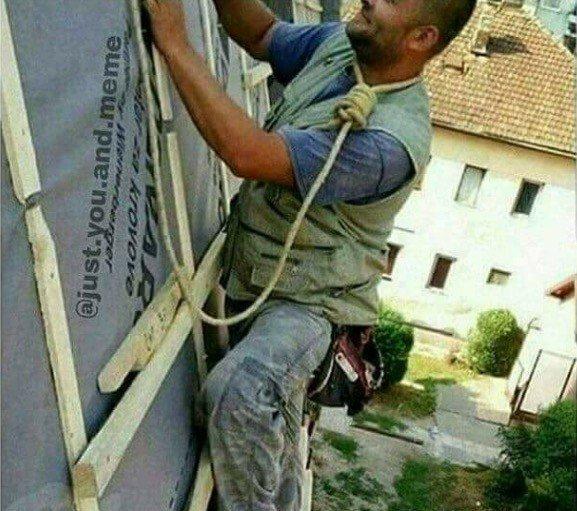 Люди, которые наплевали на технику безопасности